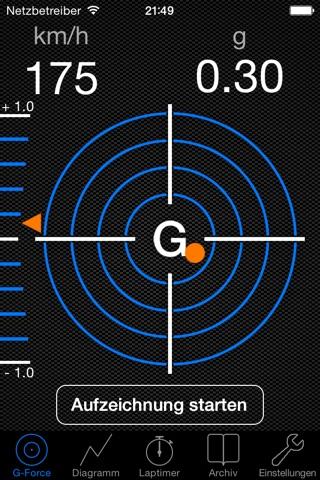 G-Force-Meter screenshot 1