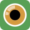 Fisheye Plus Free - Lomo Fisheye Camera with Crystal ball Lens and Color Flashlight