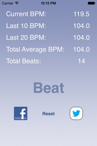 Music BPM screenshot 1