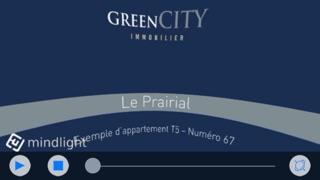 Green City Immobilier - Le Prairial - Visite ImmersiveCapture d'écran de 1