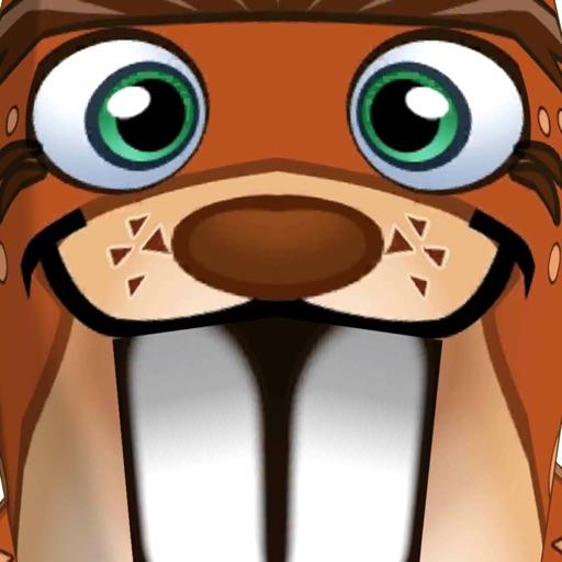 卡通动物运行 - 游戏的孩子免费