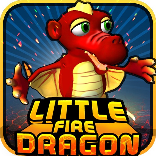 Little Fire Dragon - Free ( Simple Addictive Fun Game ) iOS App