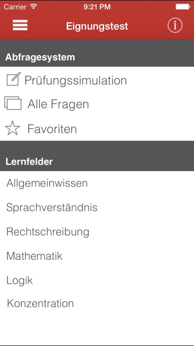 Screenshot for Eignungstest Trainer in Germany App Store