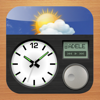 Alarm Clock & Weather HD - Digital Night Stand for iPad - Postindustria
