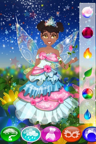 Fairy Dress Up Games for Girls with Dolls & Christmas Princess screenshot 3
