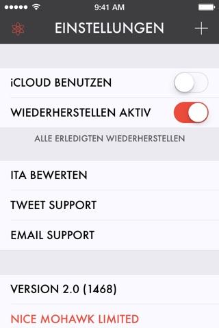 Ita — A List-Making App screenshot 4