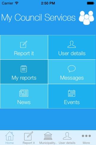 India - My Municipality Services screenshot 2