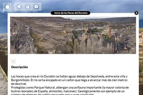 Mirador de Zuloaga en Sepulveda. Segovia screenshot 3