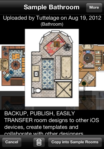 Home Design DIY Interior Room Layout Space Planning & Decorating Tool - Mark On Call for iPhone screenshot 1