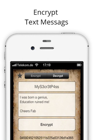 Secure Text Message screenshot 2