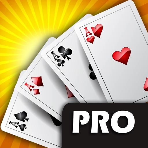 Atlantic City Poker PRO - VIP High Rank 5 Card Casino Game iOS App