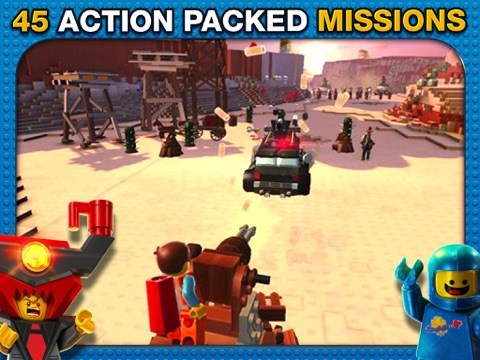 Screenshot of The LEGO® Movie Video Game