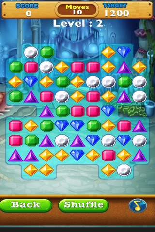 Jewel Quest Match Fun-Switch the Gem and complete the Amazing levels. screenshot 2