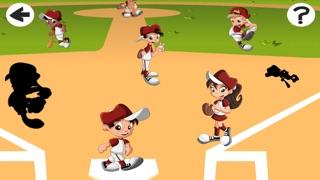 Screenshot of Una Partita di Baseball For Baby & Kids: Colouring Book & Puzzle Difficile Per i Bambini di Età da2