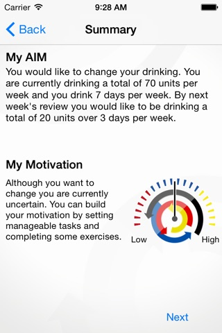 AiM-App to Improve Motivation screenshot 4