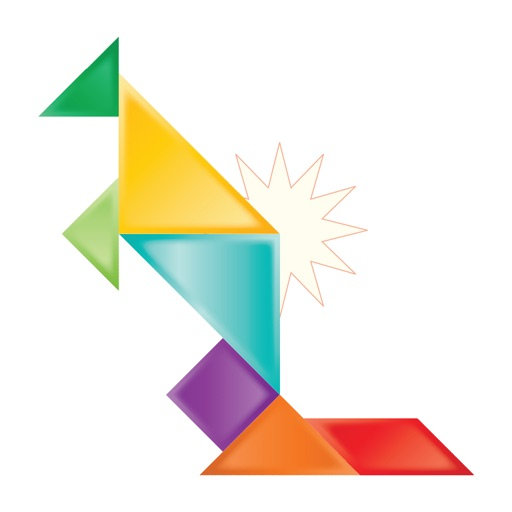 Tangaroos - A Tangram Puzzle Game for Fun and Education iOS App