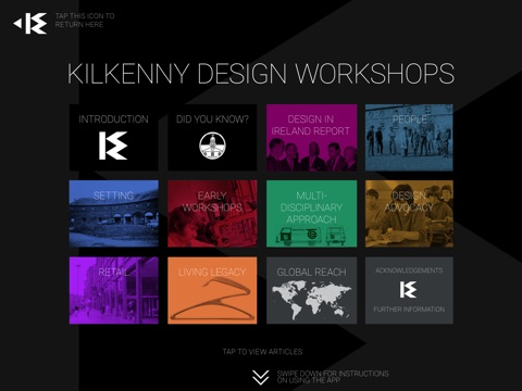 KDW Kilkenny Design Workshops - Ireland screenshot 1