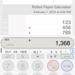 Calculatrice de papier enroulé Flat