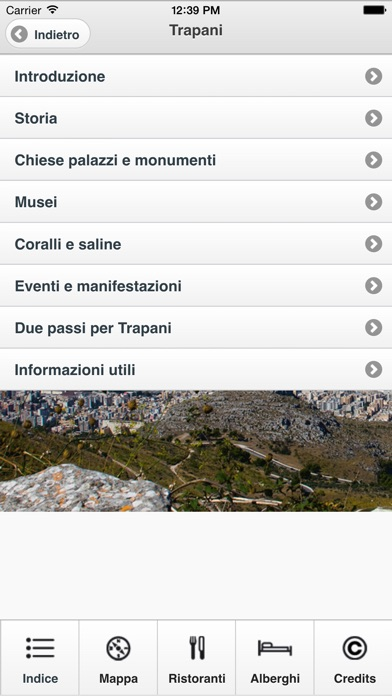 Screenshot of Guida di Trapani2