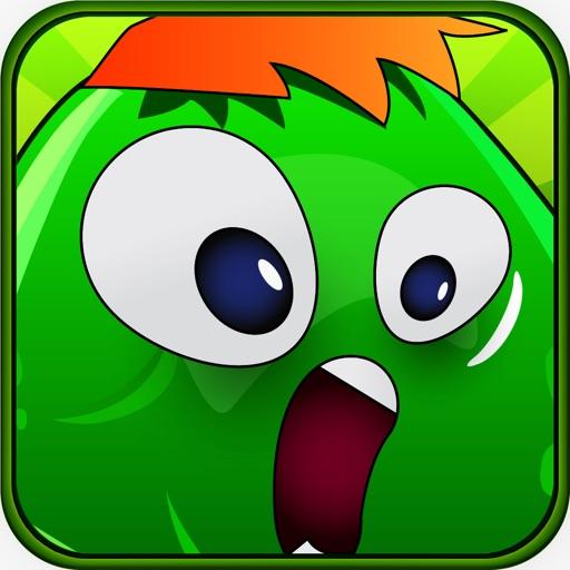 Green Gross Globs Backyard Invasion iOS App
