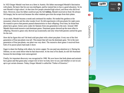 Nonfiction Reading Grade 6 with Class Responder screenshot 3