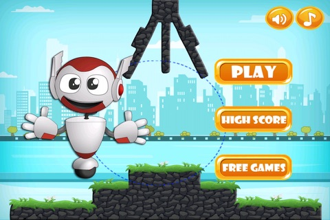 Hero Challenge - Swinging Robot Mania FREE screenshot 3