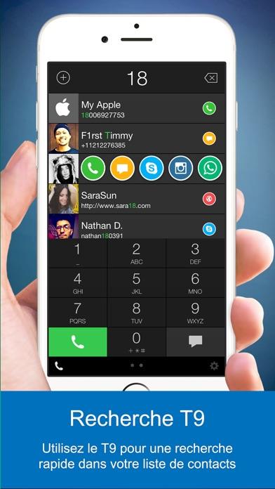 Screenshot #3 pour One Touch Dial - T9 dialer Composition rapide appelé numérotation rapide faciale  numérotation visuelle photo composition abrégée