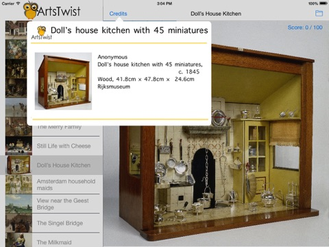 ArtsTwist Find It Rijksmuseum screenshot 3