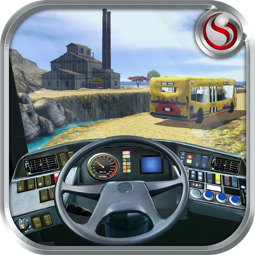 Off Road Bus Tourist Transport – Take Travellers from City to Hill Side for an Outdoor Trip iOS App