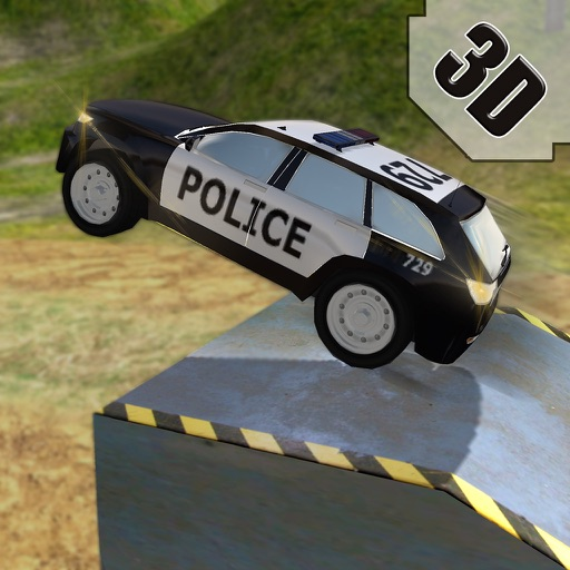 Crazy 4x4 Off Road Swat Police Car Stunts Race Icon