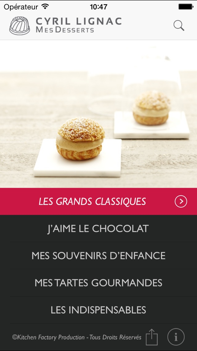 download Cyril Lignac MesDesserts apps 1