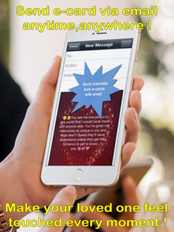 Love eCards and Wallpapers MakerCustomising and sending romantic