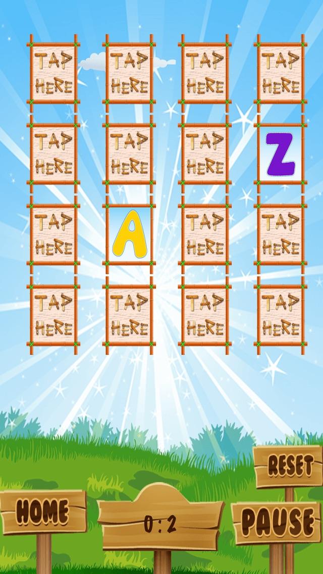 ABC Jeu de Mémoire Pour Les Enfants - Apprendre Avec L'alphabetCapture d'écran de 2
