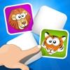 ABC 記憶ゲーム 子供のための - 学ぶ 動物との