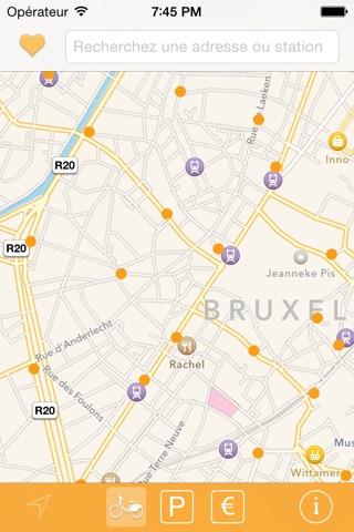 Bike Bruxelles screenshot 2