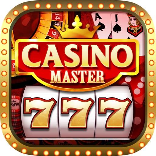 A Abu Dhabi 777 Jackpot Casino Master Slots Machine Icon