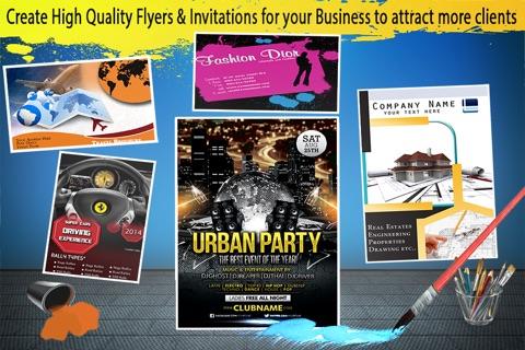 Flyer & Invitation Creator screenshot 2