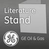 GE Oil & Gas Literature Stand