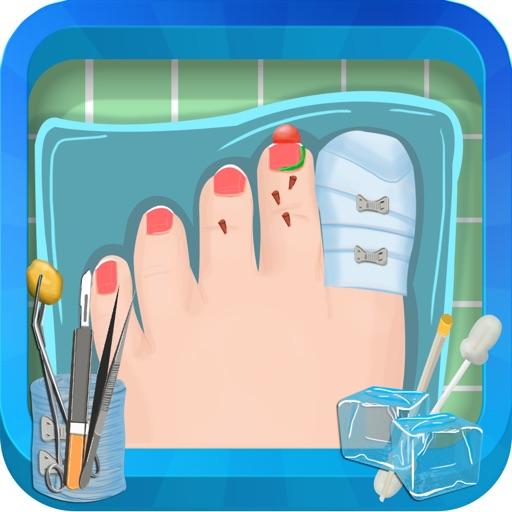 Toe Surgery - Crazy foot surgeon adventure and doctor game iOS App