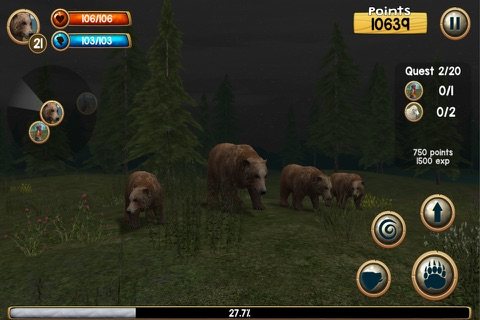 Wild Bear Simulator 3D screenshot 2