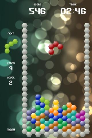 Falling Hex screenshot 1