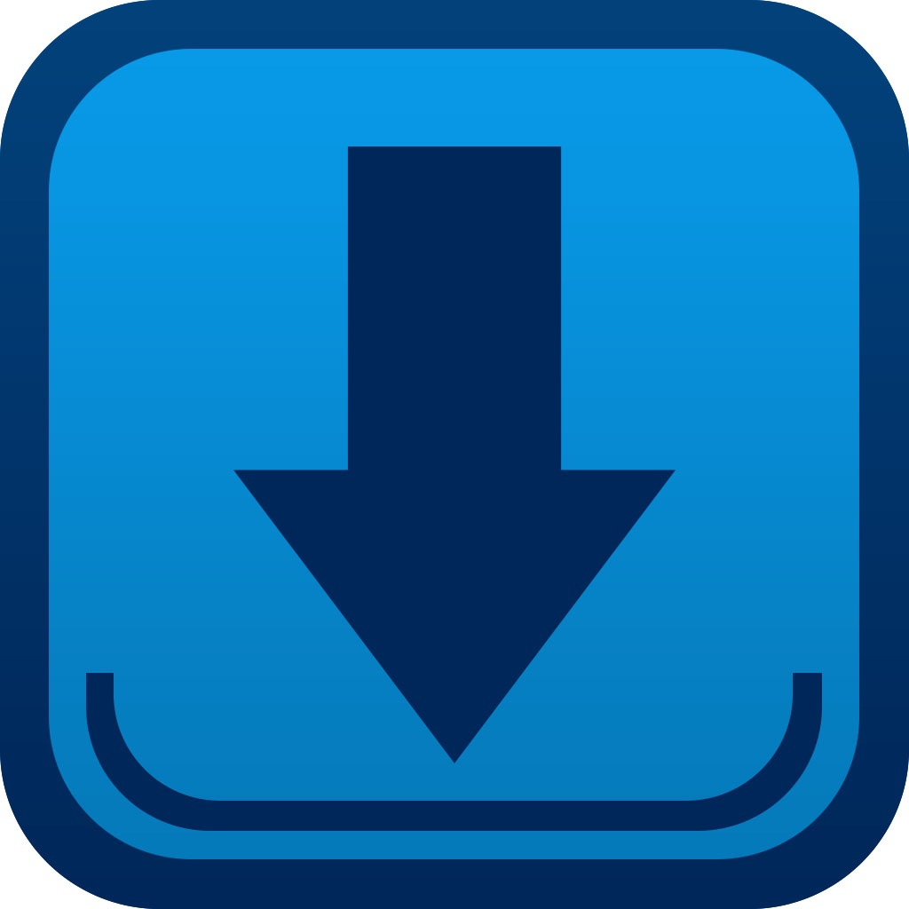 Free video downloader plus download manager mp4 video player app icon reheart Choice Image