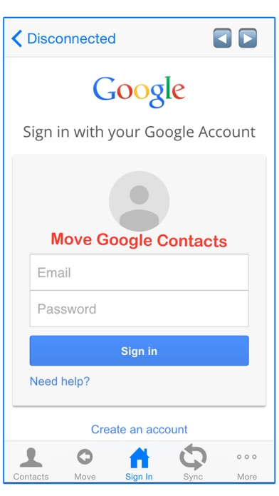 how to get contacts from iphone to ipad
