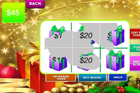 Christmas Lotto Scratch - Santa background and fun themes to play screenshot 1