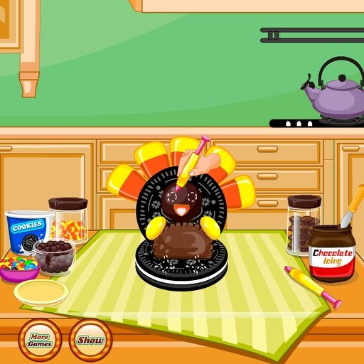 Thanksgiving Turkey Cookies iOS App