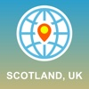 Scotland,  UK Map - Offline Map,  POI,  GPS,  Directions