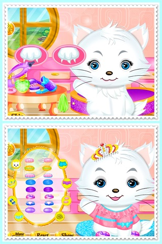 Princess Kitty Hair Salon screenshot 3