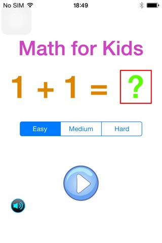 Kids_Math screenshot 1
