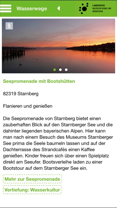 Landpartie: Wasserwege Screenshot