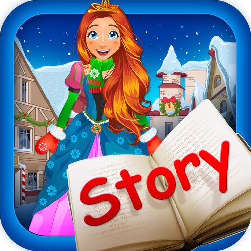 My Own Little Interactive Snow Princess Story Book Game Free App iOS App
